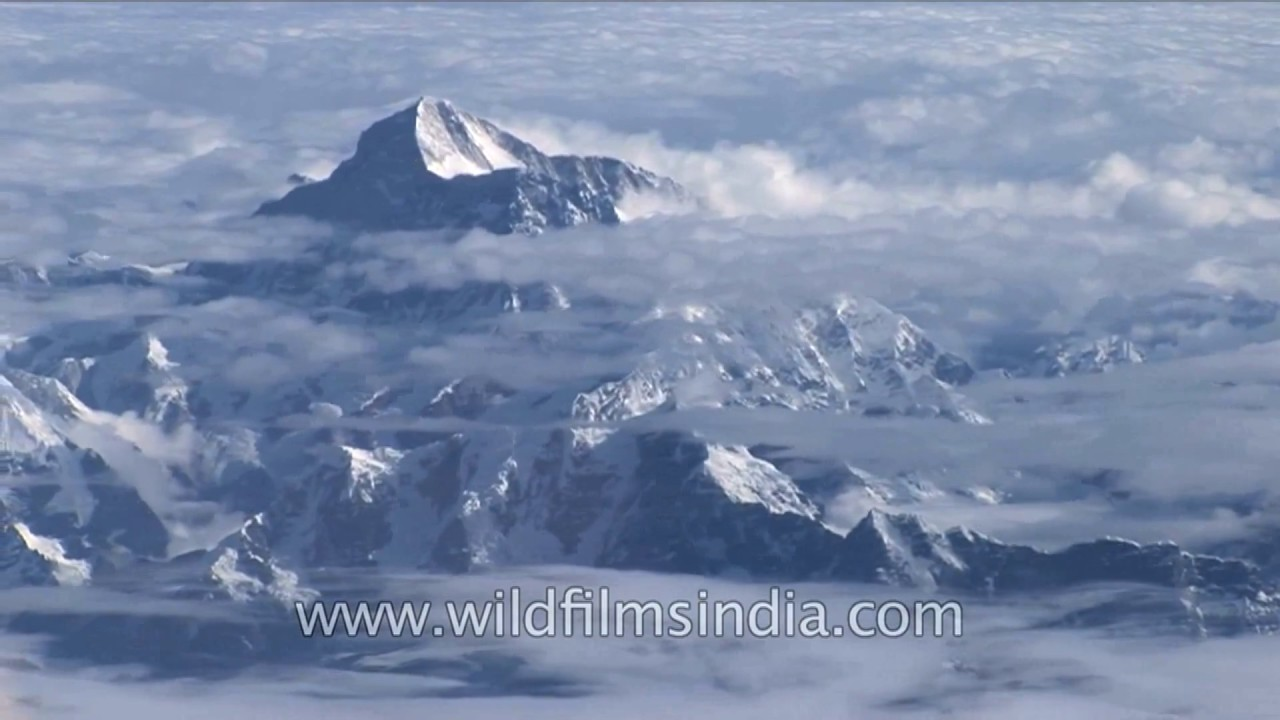 Where Are The Himalayas Located On A World Map.The Himalayan Range Youtube