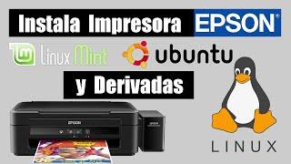 Cómo instalar impresora Epson en Linux Mint, Ubuntu y derivadas