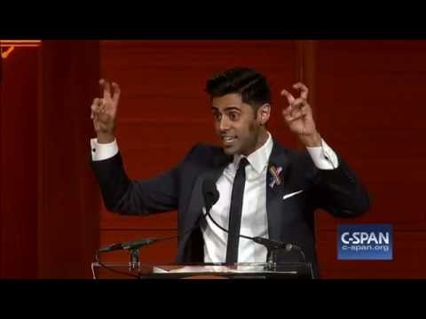Hasan Minhaj at 2016 RTCA Dinner (C-SPAN)
