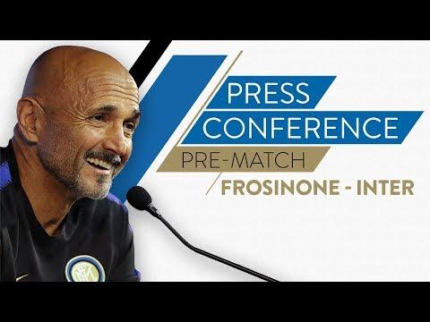 FROSINONE vs INTER | Luciano Spalletti Pre-Match Press Conference LIVE