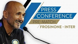 FROSINONE vs INTER | Luciano Spalletti Pre-Match Press Conference LIVE 🎙⚫🔵