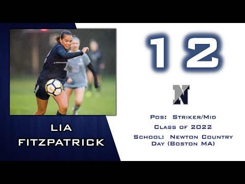 Lia Fitzpatrick - Newton Country Day School Highlights 2019