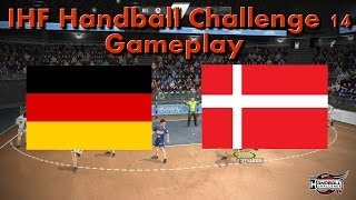 IHF Handball Challenge 14 Gameplay (Germany - Denmark) HD