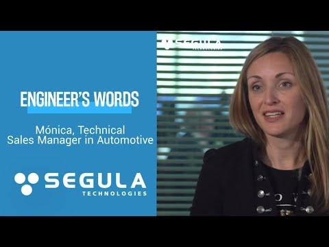 Engineer's Words : Monica, technical sales manager in automotive