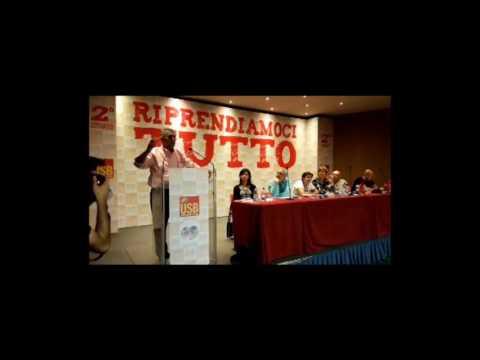 2° Congresso Usb, Tivoli: Intervento George Mavrikos,...