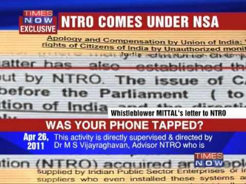 Did NTRO tap phones?