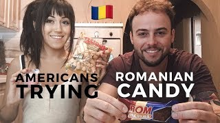 Americans Try Romanian Candy and Snacks