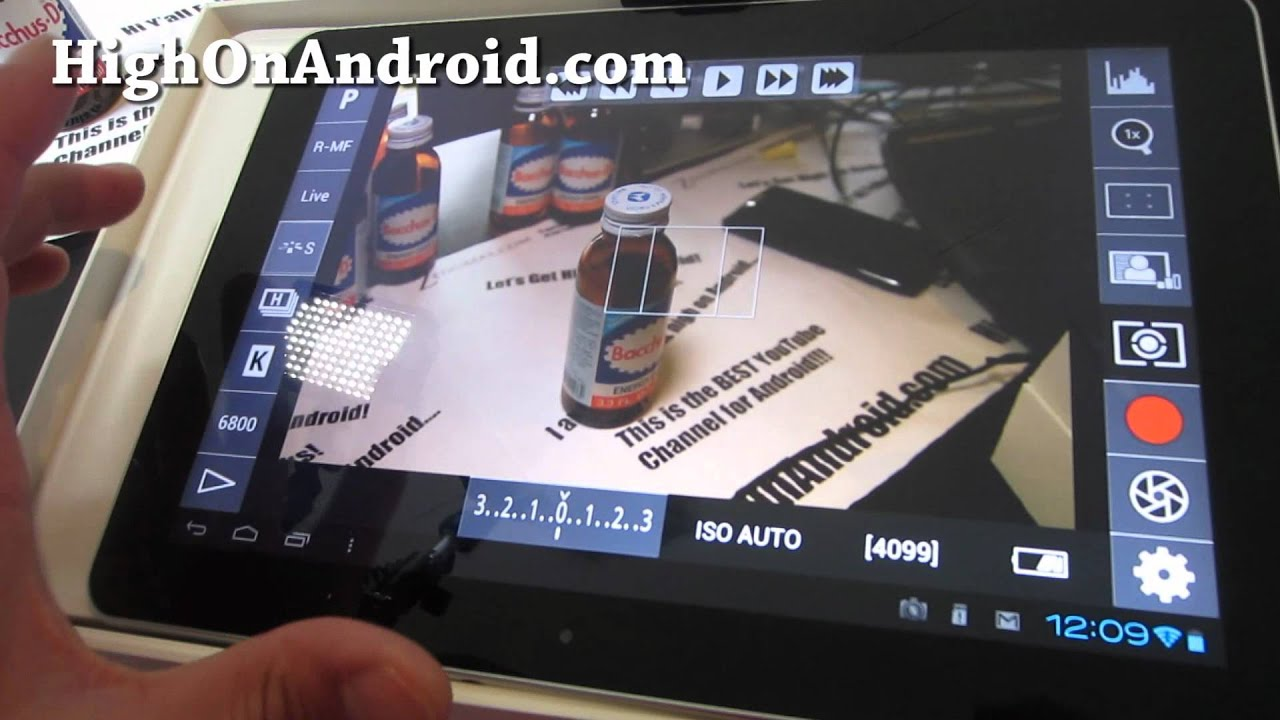 DSLR Controller App for Android Tablet - DSLR App of The Year!