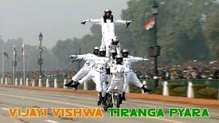 Vijayi Vishwa Tiranga Pyara | Hindi Patriotic Songs | Vijayi Vishwa Tiranga Pyara Lyrics