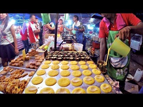 Delicious Street Food at the Night Market Langkawi, Malaysia #GoPro