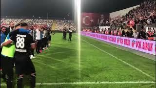 Video 222 | Altay'ın, Altınordu'yu 4-0 Mağlup Ettiği Maçtan Sonra Sevinci 👏