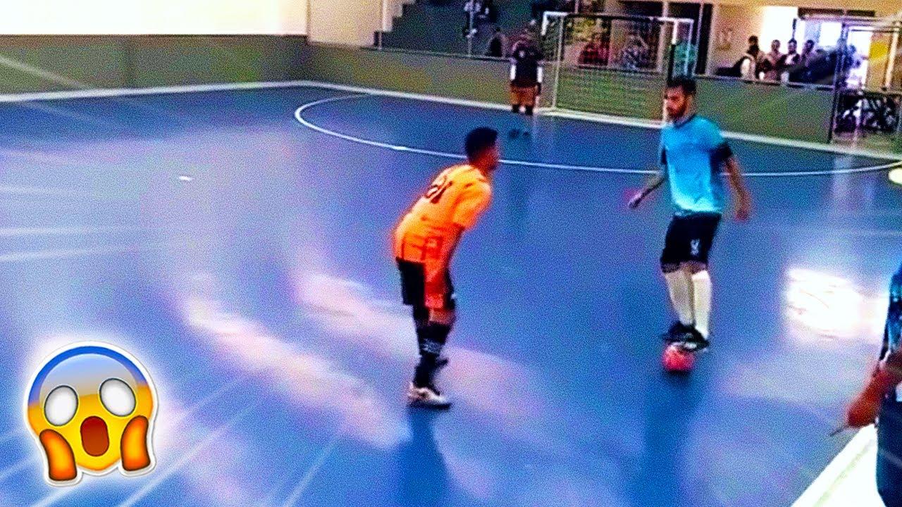 Achei o JOGADOR MAIS PROVOCATIVO do Futsal 😱 (JOGA MUITO)
