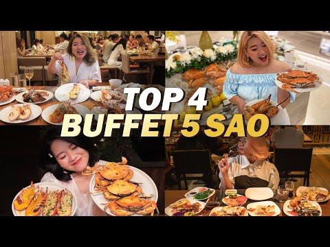 TOP 4 NHÀ HÀNG BUFFET HẢI SẢN 5 SAO HOT NHẤT SÀI GÒN   THÁNH ĂN TV