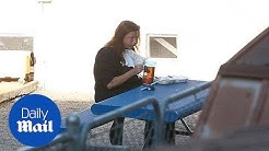 Dance Mom's Abby Lee Miller eating alone at a halfway house - Daily Mail