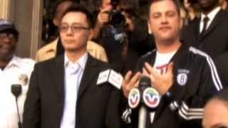 Jimmy Kimmel White House petition racks up signatures over Chinese people skit(Subscribe to ITN News: http://bit.ly/itnytsub The anger over a sketch on the Jimmy Kimmel Live talk show has grown resulting in a petition created on the White ..., 2013-11-08T12:17:30.000Z)