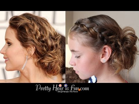 How To: Side Pulled Dutch Braid Updo