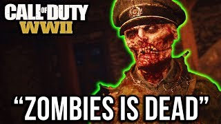 IS ZOMBIES DEAD??? What if WW2 Zombies FAILS?!?! - (Call of Duty WWII Zombies Discussion)