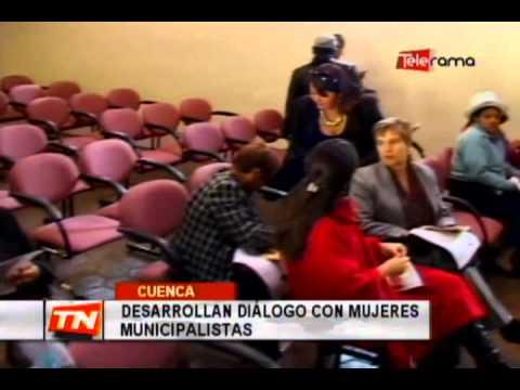 Desarrollan diálogo con mujeres municipalistas