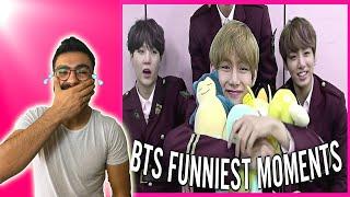 K-POP TEPKİ | BTS FUNNY MOMENTS