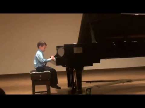 Vancouver Academy of Music Year One Piano Recital - May 2013