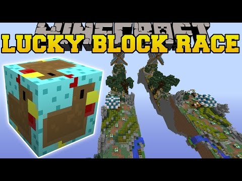 Minecraft: SO DEADLY THANKSGIVING LUCKY BLOCK RACE - Lucky Block Mod - Modded Mini-Game