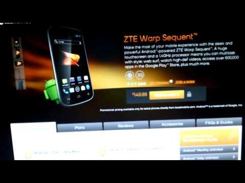 ZTE Warp Sequent 4.1 Update?