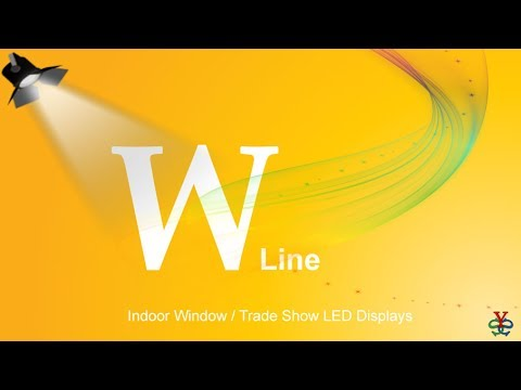Your Signage Source wholesale indoor and outdoor smd led displays W Line Presentation Displays