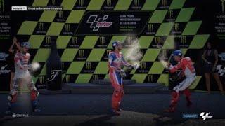 MotoGP 18: Quick Race At Catalunya (Gameplay + Replay)