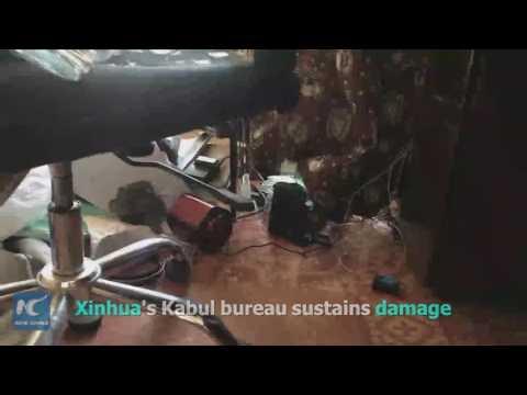 Huge blast rocks Afghan capital Kabul