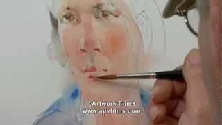 Figurative Watercolours: Charles Reid