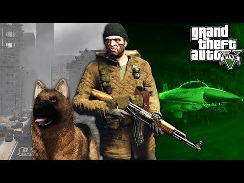 GTA 5 Zombie Apocalypse Ep. 4 - NOVÝ KAMARÁT ( GTA 5 FILM )