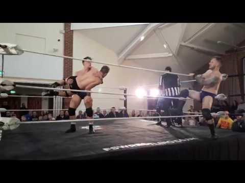 Falling Starr Wrestling Swanton Morley 25/11/2017: Team FSW vs Team Battle Pro