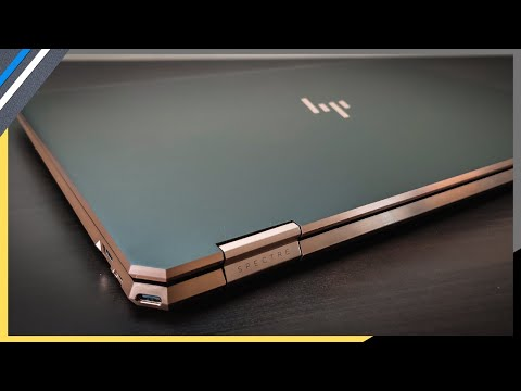 ✨HP Spectre x360: The World's Most BEAUTIFUL Laptop, But...☝🏽