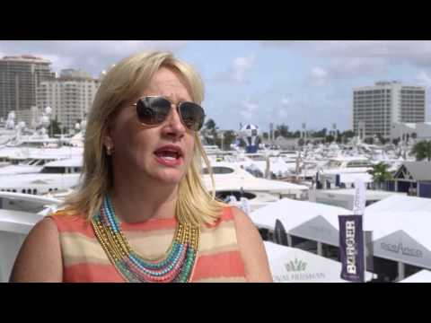 Luxury Law Group's Danielle Butler at #FLIBS2015 on the Yachting Industry in South Florida