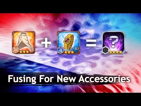 Fusing For The New Accessories [Bleach Brave Souls]