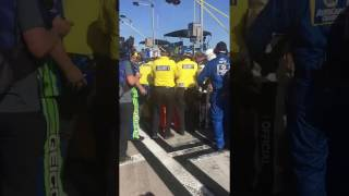 kyle busch and joey logano fight