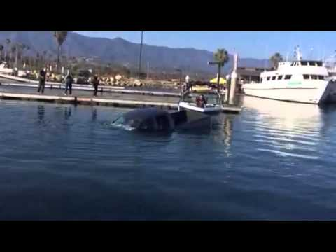 Boat Sinks in Santa Barbara