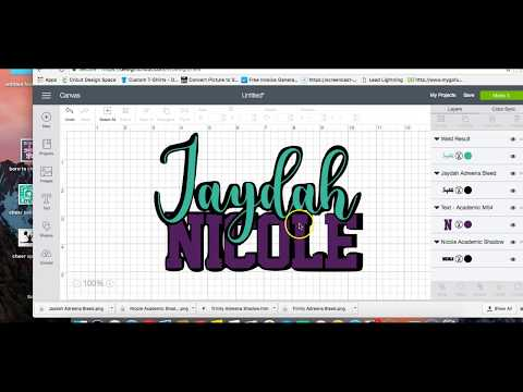 Cricut Users: How to create a shadow, offset or bleed