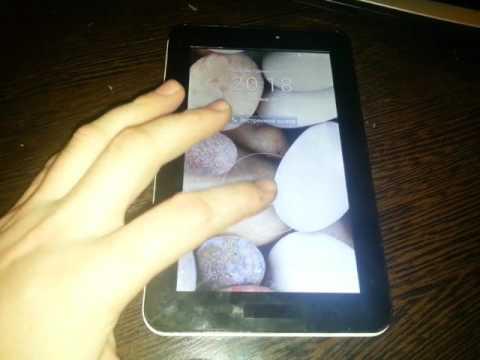 Huawei mediapad 7 youth 2 после замены сенсора.
