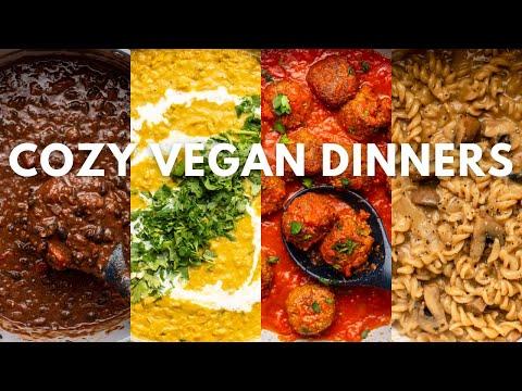 5 Cozy Vegan Weeknight Dinners