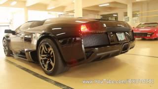 Lamborghini Murcielago LP640 Roadster Startup and Sound