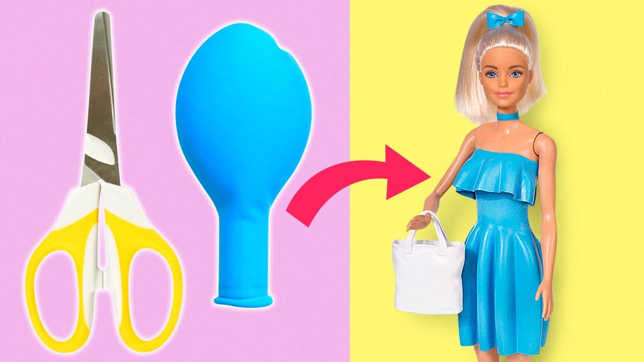 Makeover Barbie Mudah    Kamu Cuma Perlu Balon