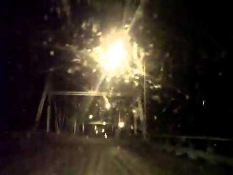 It's Raining Mayflies On The Red Wing River Bridge (7-20-2014)