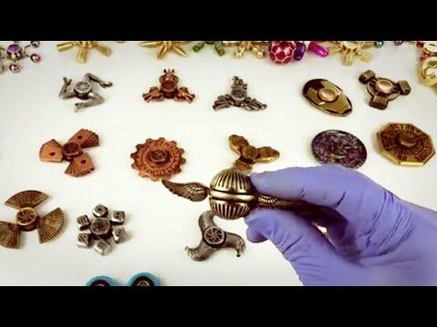 Huge Super Rare Fidget Hand Spinner Unboxing + 4 Giveaways
