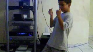 superman dance 6 yr old