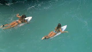 Female Surfers Flock To Uluwatu - 12 February 2020