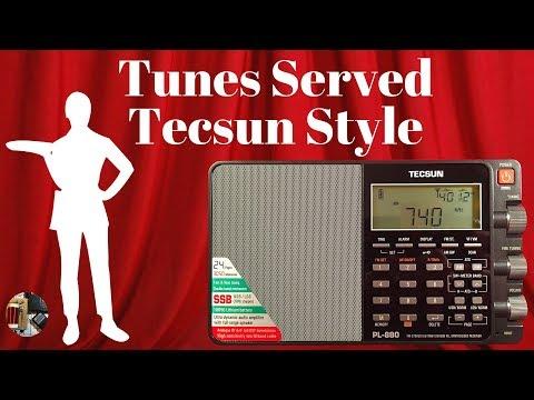 Todderbert's Tecsun PL-880 AM FM Stereo SW LW SSB Radio Review