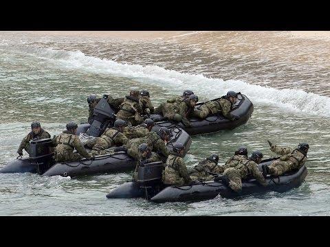 離島奪還能力を強化  奄美で上陸訓練