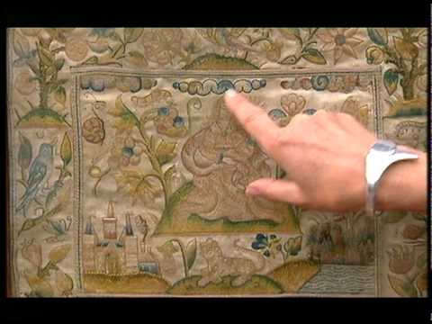 17th century embroidery Antiques Roadshow