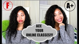 How To: Ace Your Online Classes